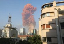 Photo of Massive Beirut Explosion Caused by Ammonium Nitrate – President Michel Aoun