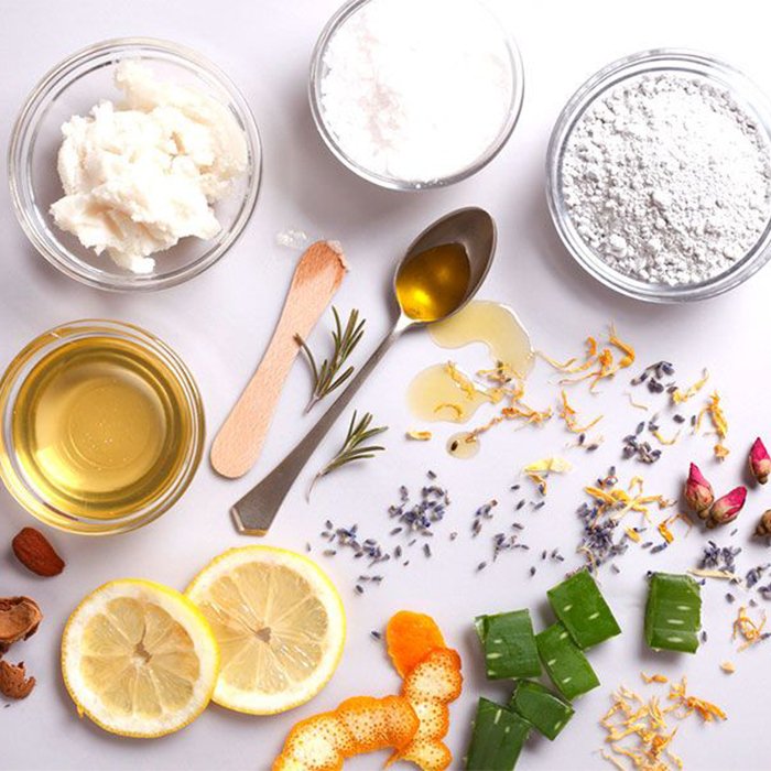 Ingredients for homemade Leave in Conditioner