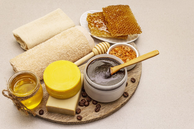 Ingredients for Homemade Lip Scrub