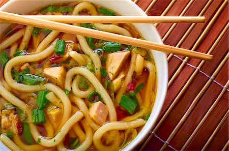 Udon Noodles in Broth